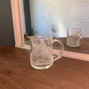 Christmas Glass Mug